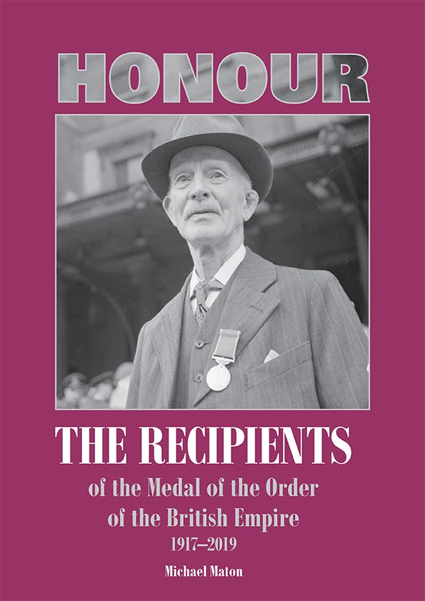 Honour the Recipients of the Medal of the Order of the British Empire - Token Publishing Shop