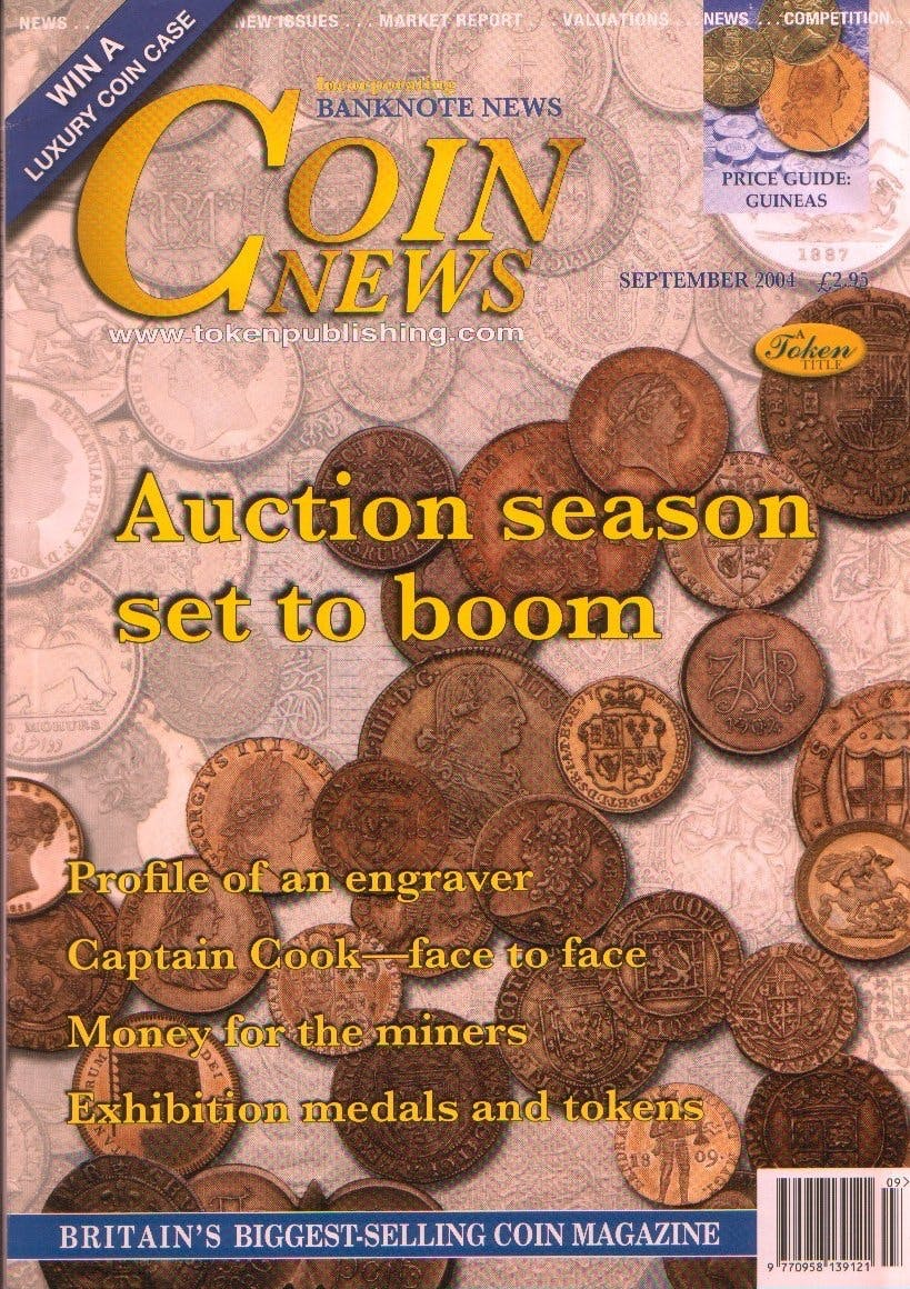 Front cover of 'The True Value', Coin News September 2004, Volume 41, Number 9 by Token Publishing
