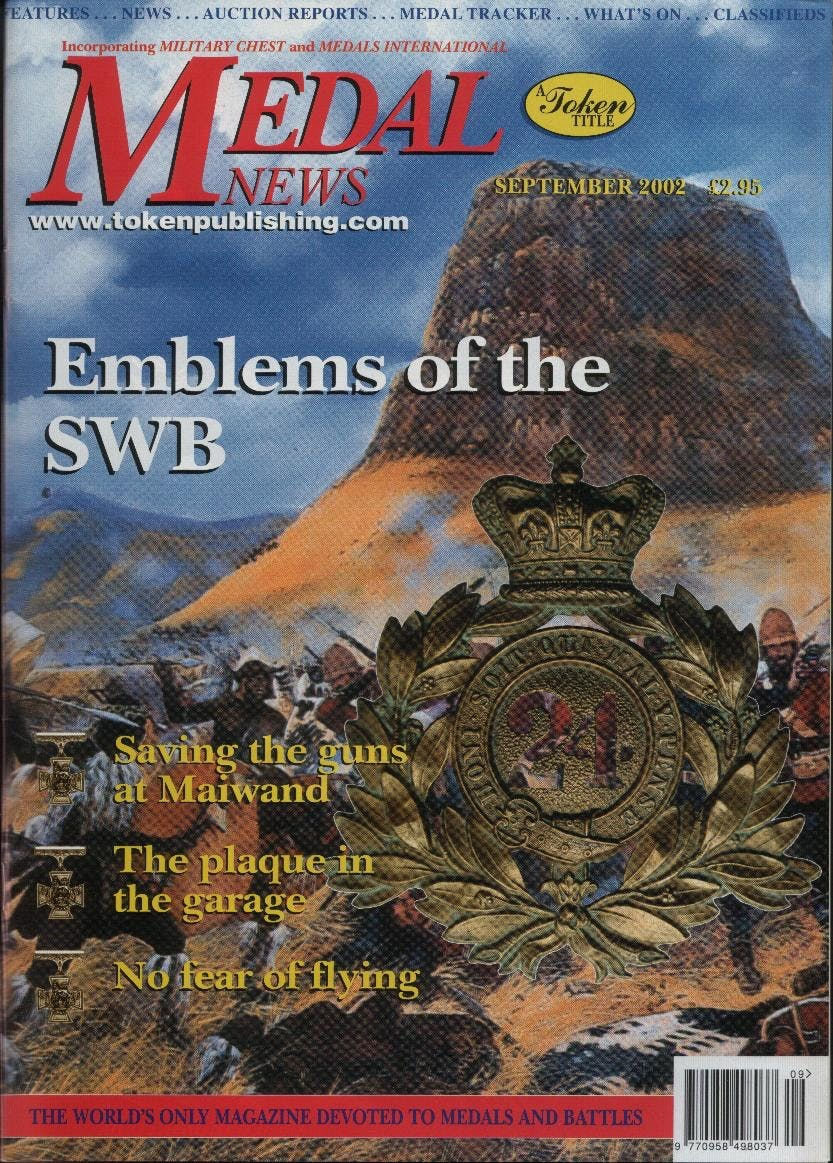 Front cover of 'Launching into Autumn', Medal News September 2002, Volume 40, Number 8 by Token Publishing
