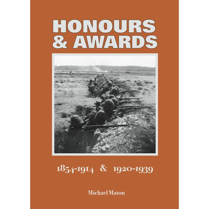 Honours and Awards 1854-1914 & 1920-1939 - Token Publishing Shop