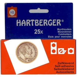 Hartberger Large Self-Adhesive Coin Holders in the Token Publishing Shop