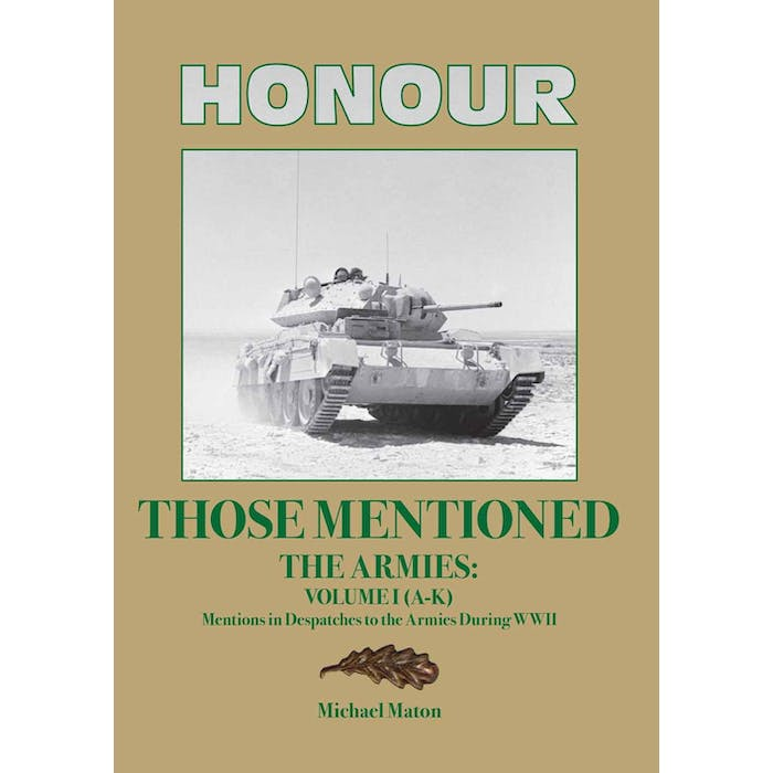 Honour those Mentioned - The Armies Volume I (A-K) - Token Publishing Shop