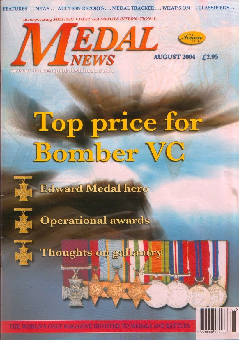 Front cover of 'Fair's Fair', Medal News August 2004, Volume 42, Number 7 by Token Publishing