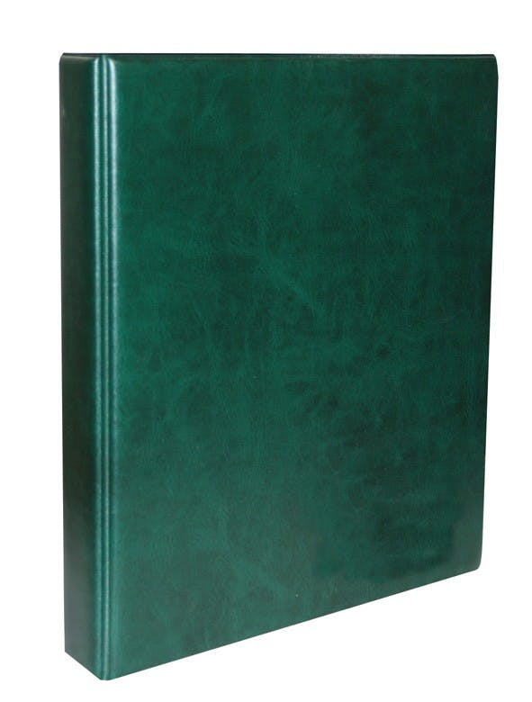 Classic banknote album in green in the Token Publishing Shop