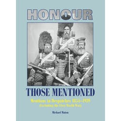 Honour those Mentioned 1854-1939 (excl.WWI) in the Token Publishing Shop