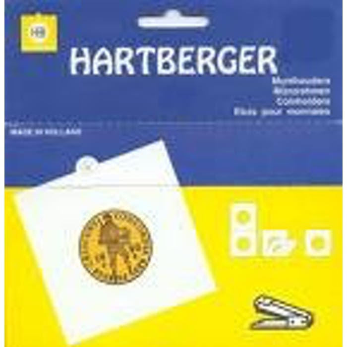 Hartberger Standard Coin Holders Non-Adhesive - Token Publishing Shop