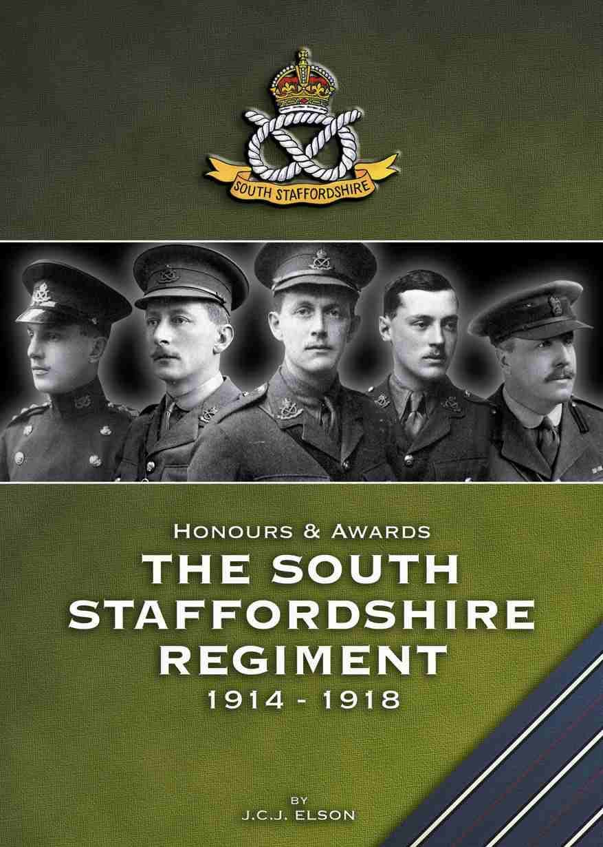 Honours and Awards to the South Staffordshire Regiment - Token Publishing Shop