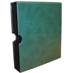Classic slipcase in green in the Token Publishing Shop