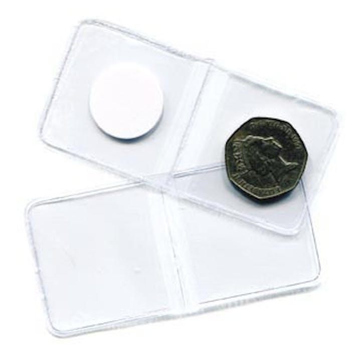 Flipover Plastic Envelope 29mm - No Longer Available from Token Publishing. Please contact www.curtiscoincare.com - Token Publishing Shop