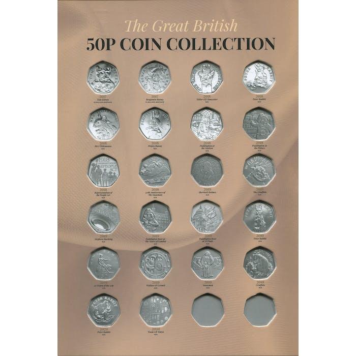 50p Collector's Album - Token Publishing Shop