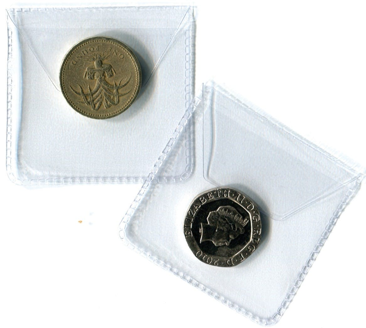 Single Pocket Plastic Envelope 35mm in the Token Publishing Shop
