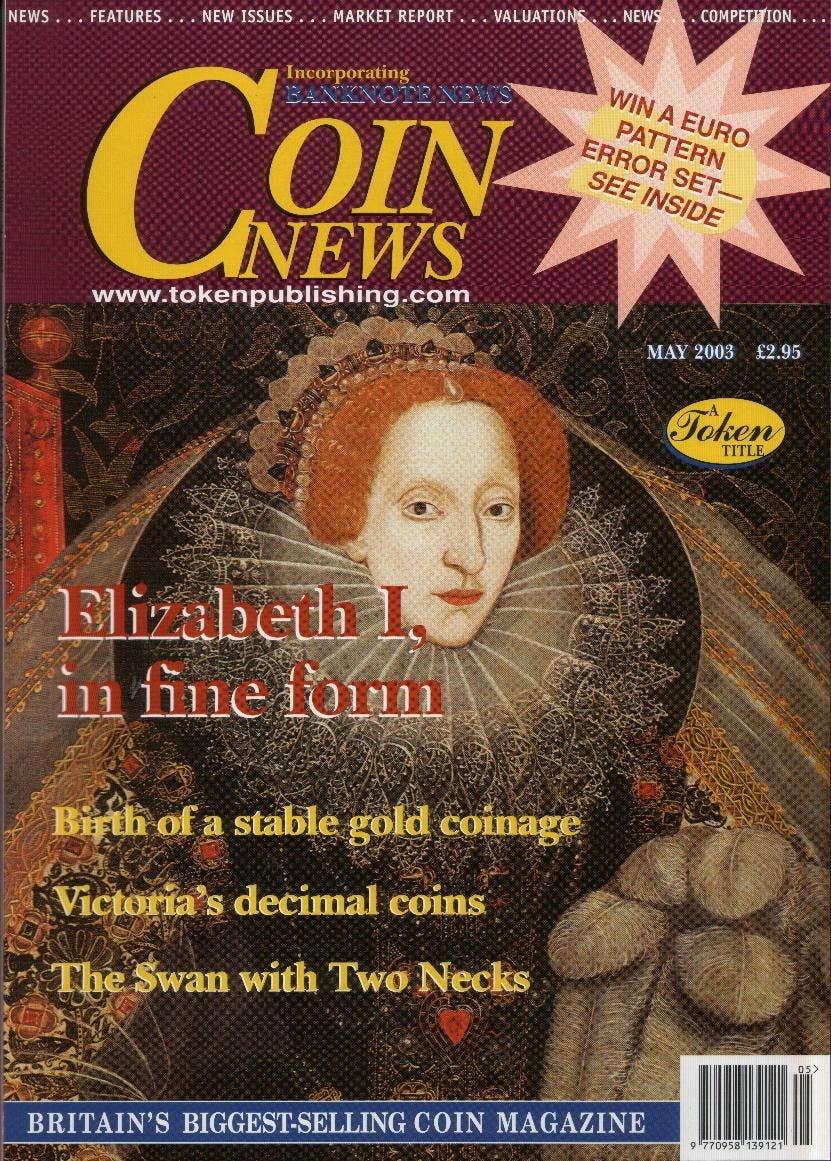 Front cover of 'What a surprising variety.', Coin News May 2003, Volume 40, Number 5 by Token Publishing