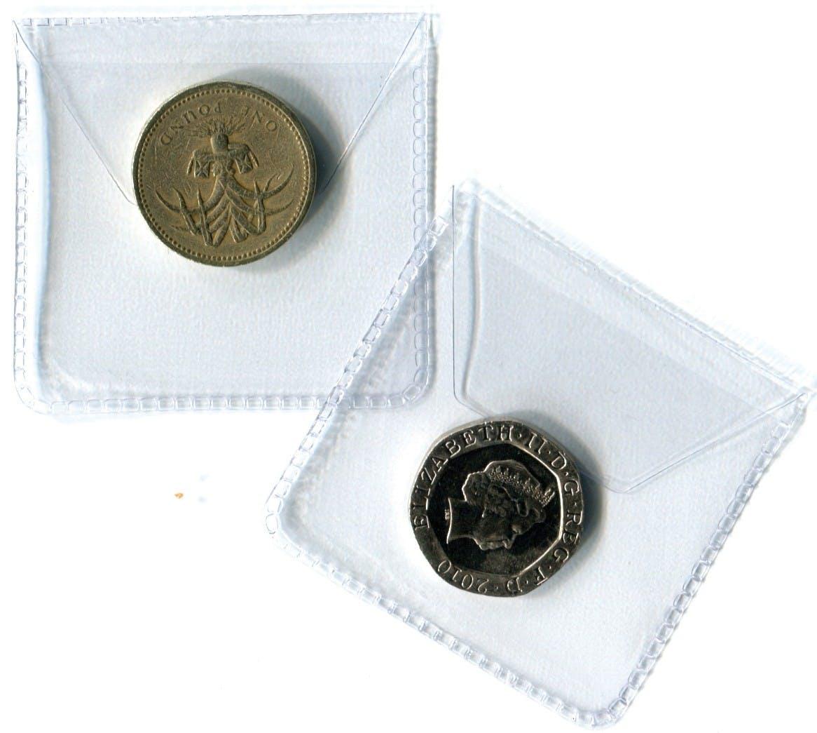 Single Pocket Plastic Envelope 50mm in the Token Publishing Shop
