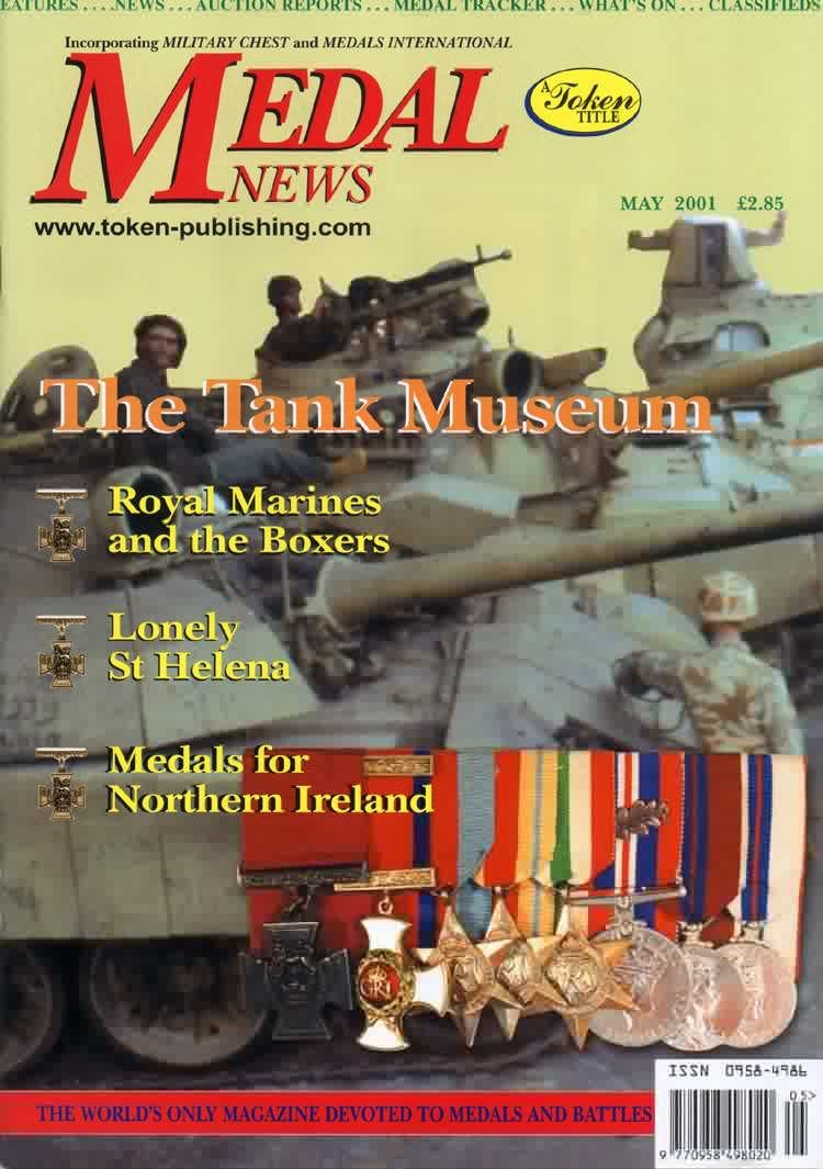 Front cover of 'Heard in high places', Medal News May 2001, Volume 39, Number 5 by Token Publishing