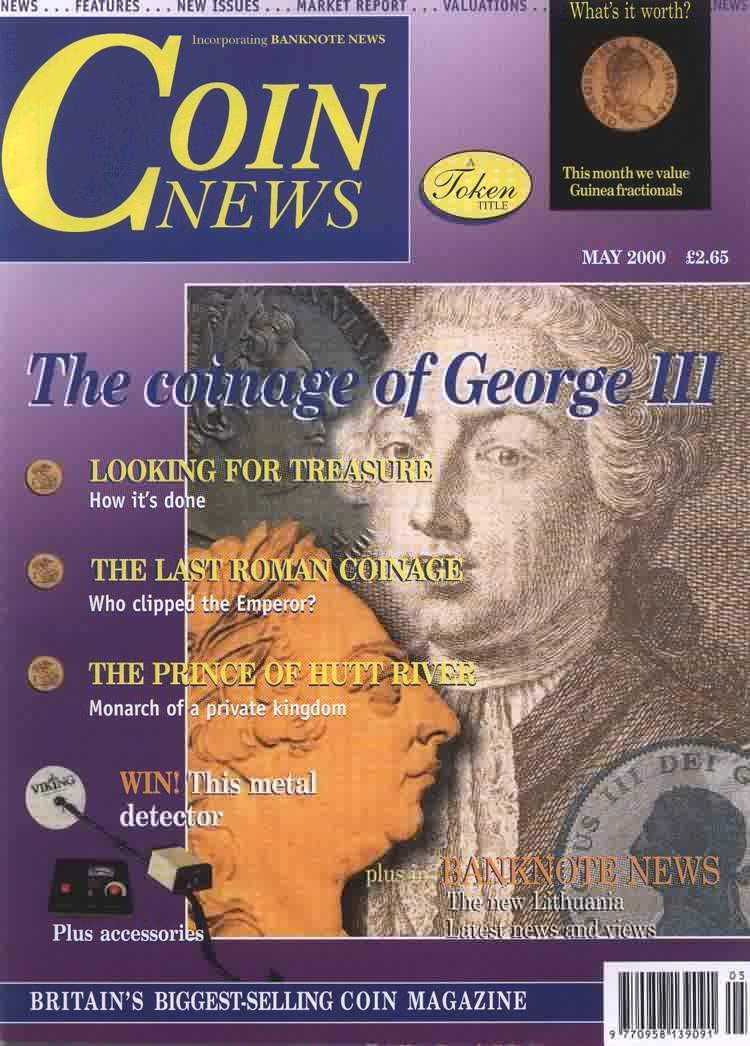 Front cover of 'Ground force', Coin News May 2000, Volume 37, Number 5 by Token Publishing