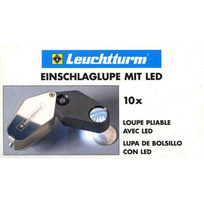 MG 3 LED illuminated 'Loupe' x10 - Token Publishing Shop