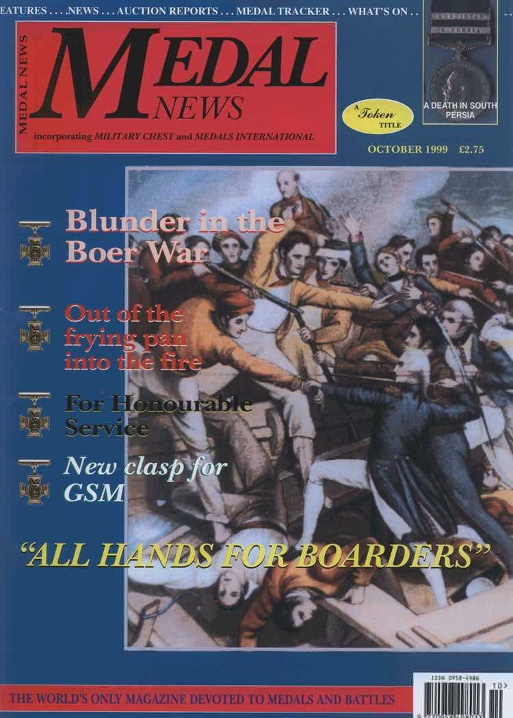 Front cover of 'Preservation of the records', Medal News October 1999, Volume 37, Number 9 by Token Publishing