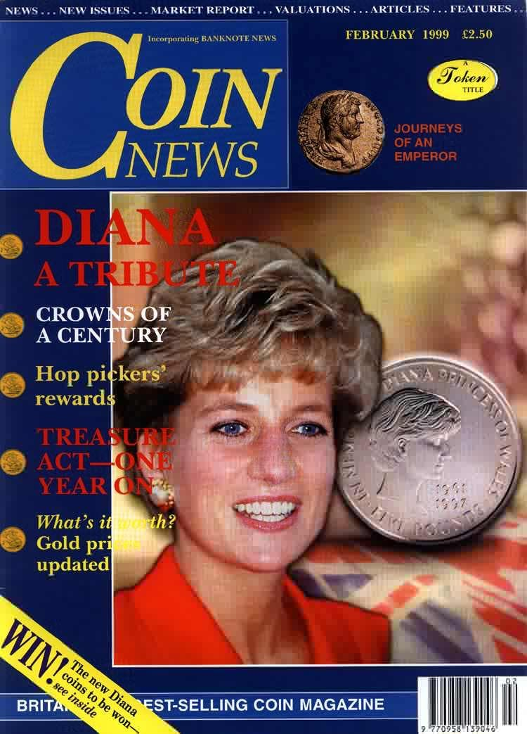Front cover of 'The last great State secret?', Coin News February 1999, Volume 36, Number 2 by Token Publishing