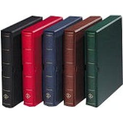 Vario in red; 4-ring binder, slipcase, 10 pages & black interleaves in the Token Publishing Shop