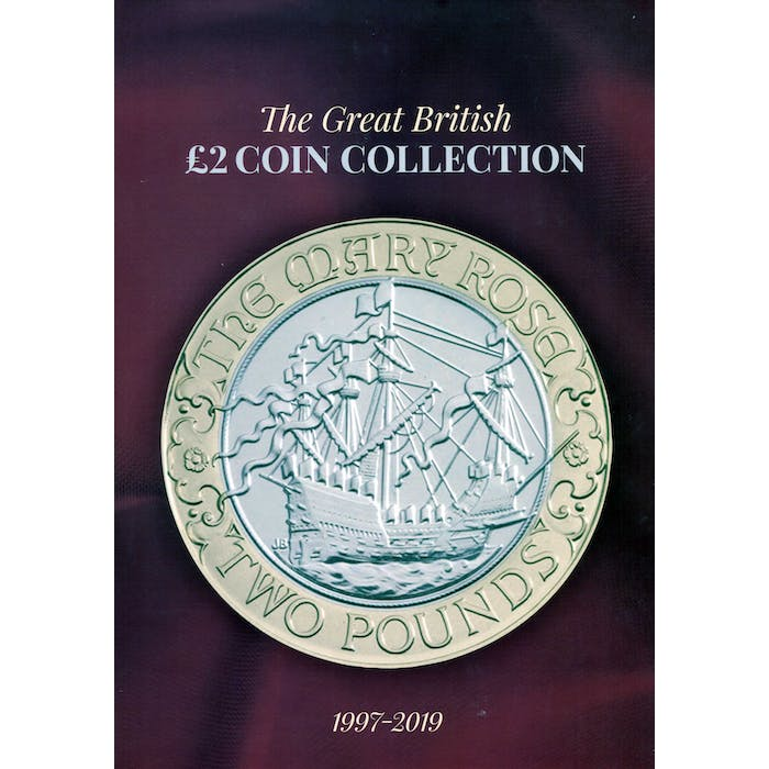 £2 Collector's Album and Price Guide - POST FREE - Token Publishing Shop