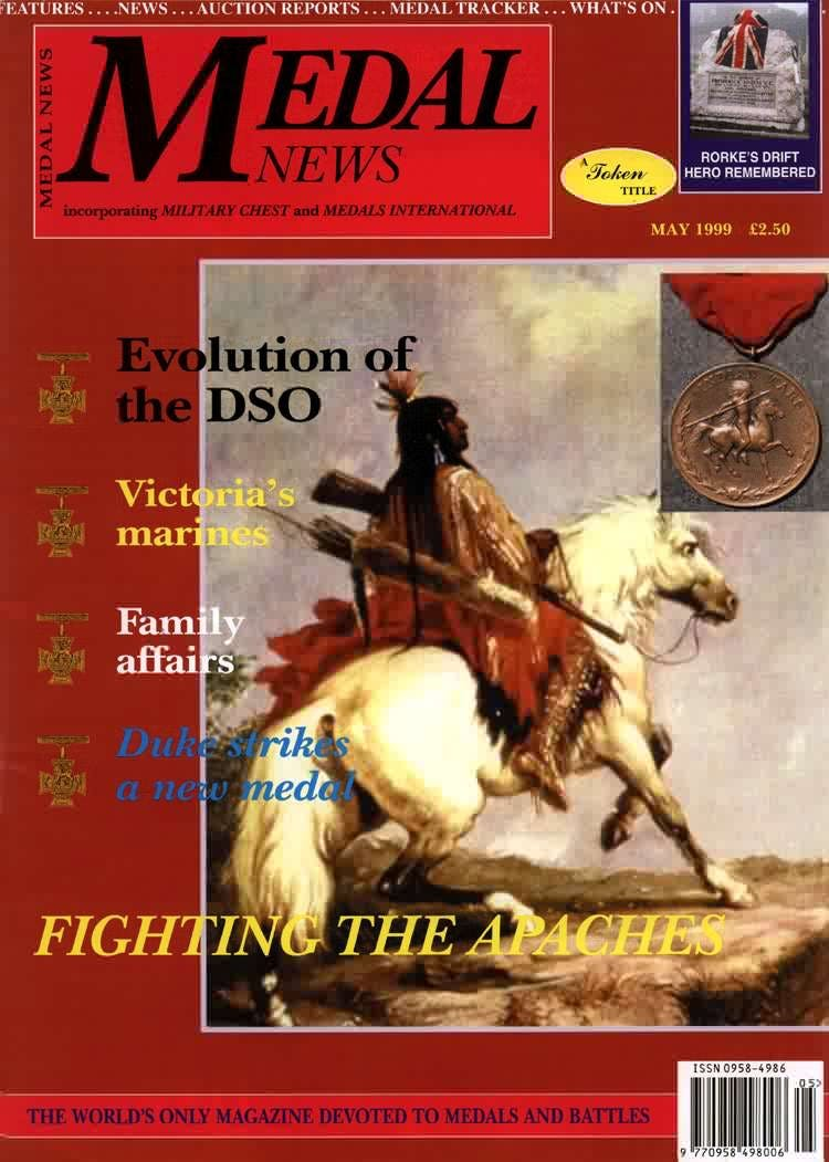 Front cover of 'A PUBLIC SECRET', Medal News May 1999, Volume 37, Number 5 by Token Publishing