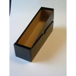 Black Card Storage Box - No Longer Available from Token Publishing. Please contact www.curtiscoincare.com in the Token Publishing Shop