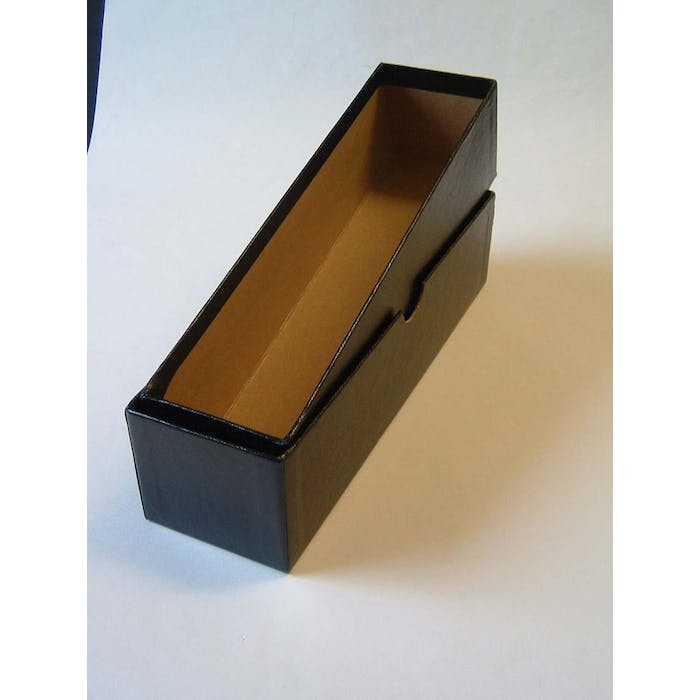 Black Card Storage Box - No Longer Available from Token Publishing. Please contact www.curtiscoincare.com - Token Publishing Shop