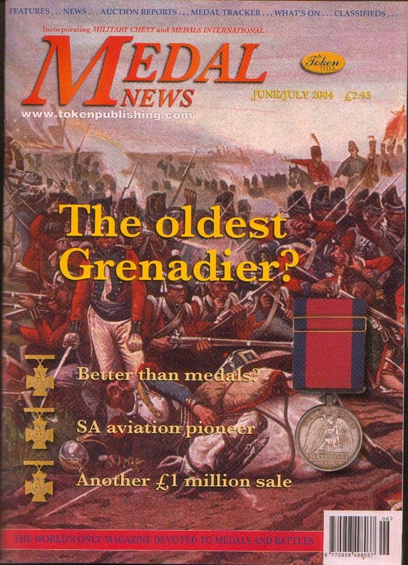 Front cover of 'Never assume', Medal News June 2004, Volume 42, Number 6 by Token Publishing