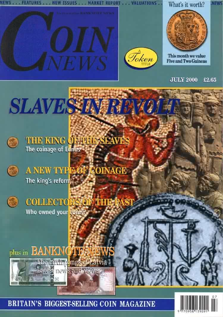 Front cover of 'Have you heard...?', Coin News July 2000, Volume 37, Number 7 by Token Publishing