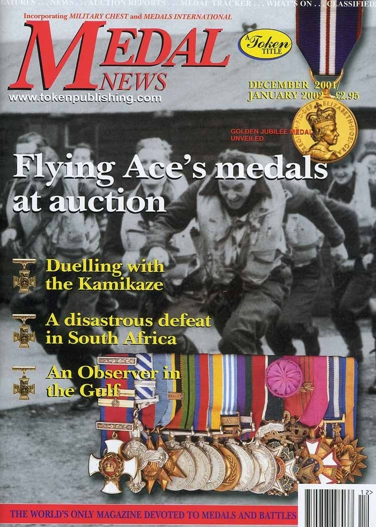 Front cover of 'A Controversial Issue', Medal News December 2001, Volume 40, Number 1 by Token Publishing