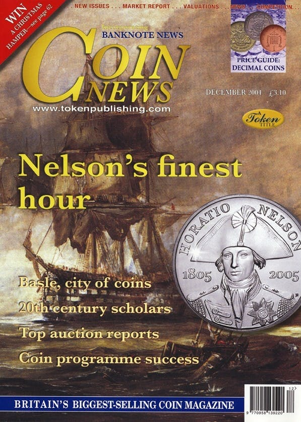 Front cover of 'Making the Right Move', Coin News December 2004, Volume 41, Number 12 by Token Publishing