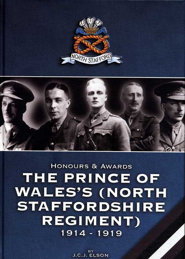 Honours and Awards to the Prince of Wales's (North Staffordshire Regiment) - (Hardcover) in the Token Publishing Shop