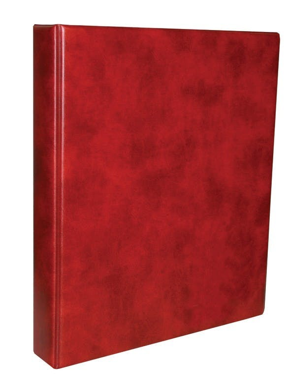 Classic banknote album in red in the Token Publishing Shop