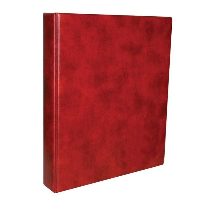 Classic banknote album in red - Token Publishing Shop