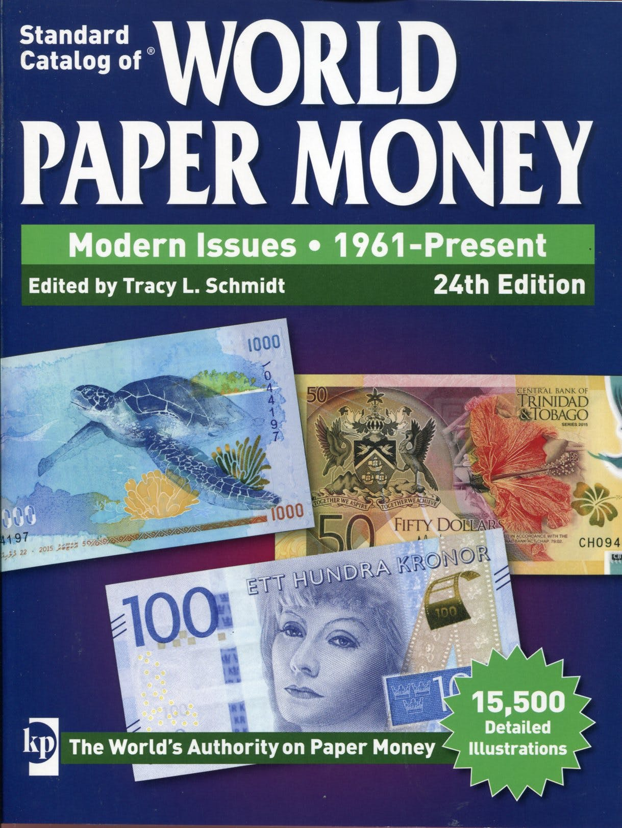 World Paper Money Volume III Modern Issues 24th edition in the Token Publishing Shop