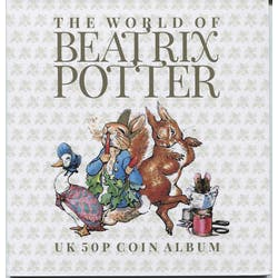 Beatrix Potter 50p Folder and Guide book - post free in the Token Publishing Shop