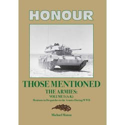 Honour those Mentioned The Armies I & II in the Token Publishing Shop