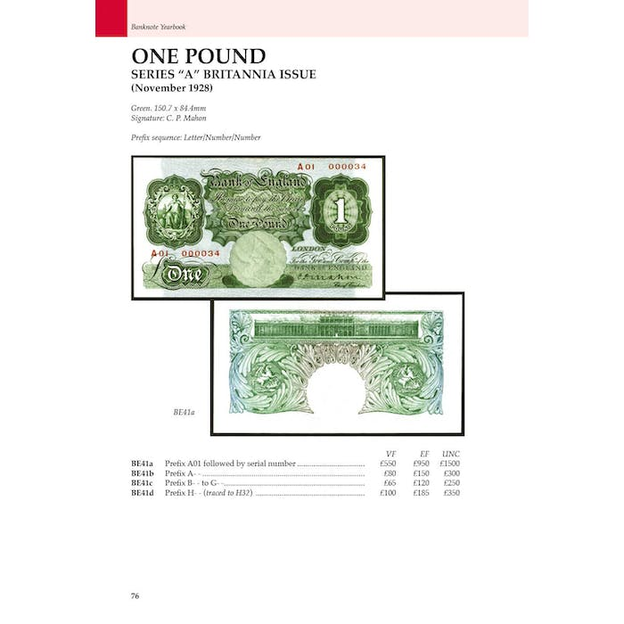 Banknote Yearbook 10th Edition - Token Publishing Shop