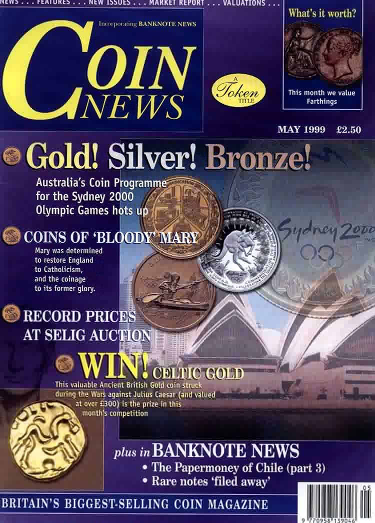 Front cover of 'Come to the fair', Coin News May 1999, Volume 36, Number 5 by Token Publishing