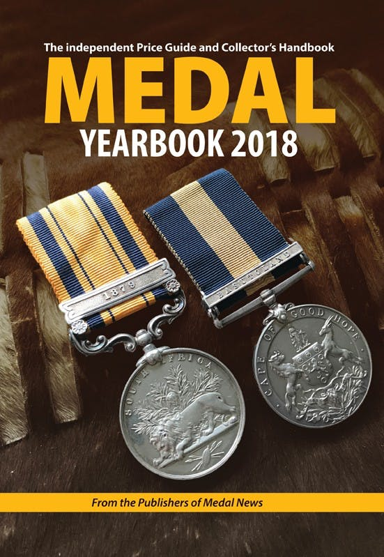 Medal Yearbook 2018 pdf in the Token Publishing Shop