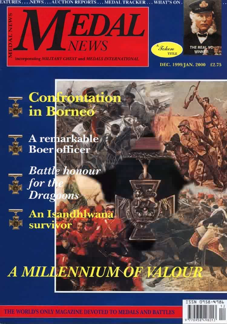 Front cover of 'Into the next millennium', Medal News December 1999, Volume 38, Number 1 by Token Publishing