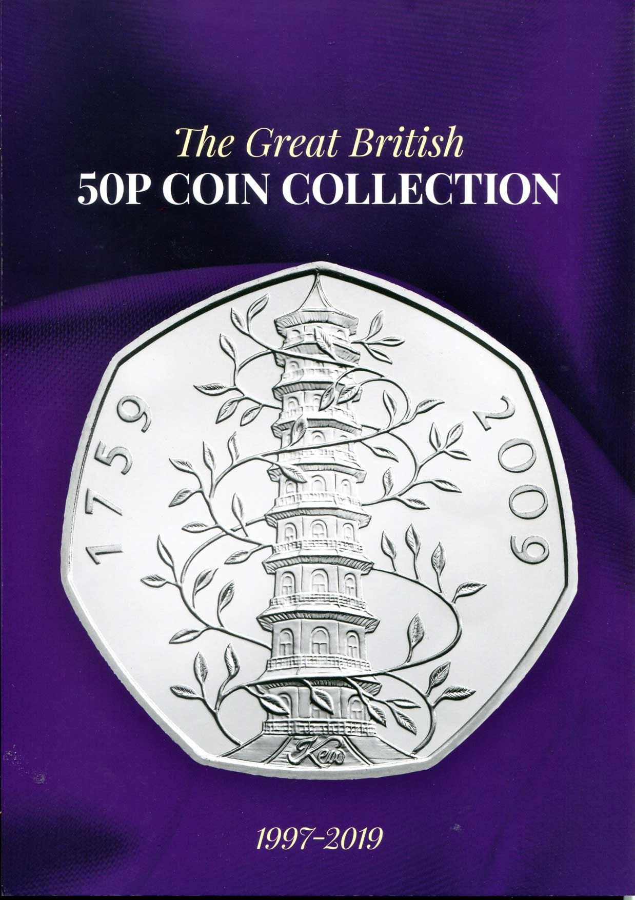 50p Collector's Album in the Token Publishing Shop