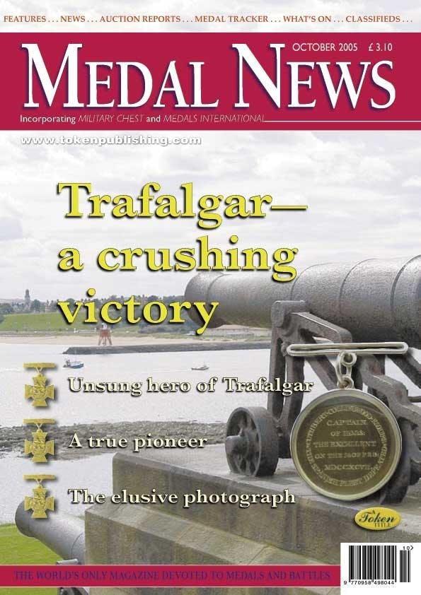 Front cover of 'Unashamed Pride', Medal News October 2005, Volume 43, Number 10 by Token Publishing