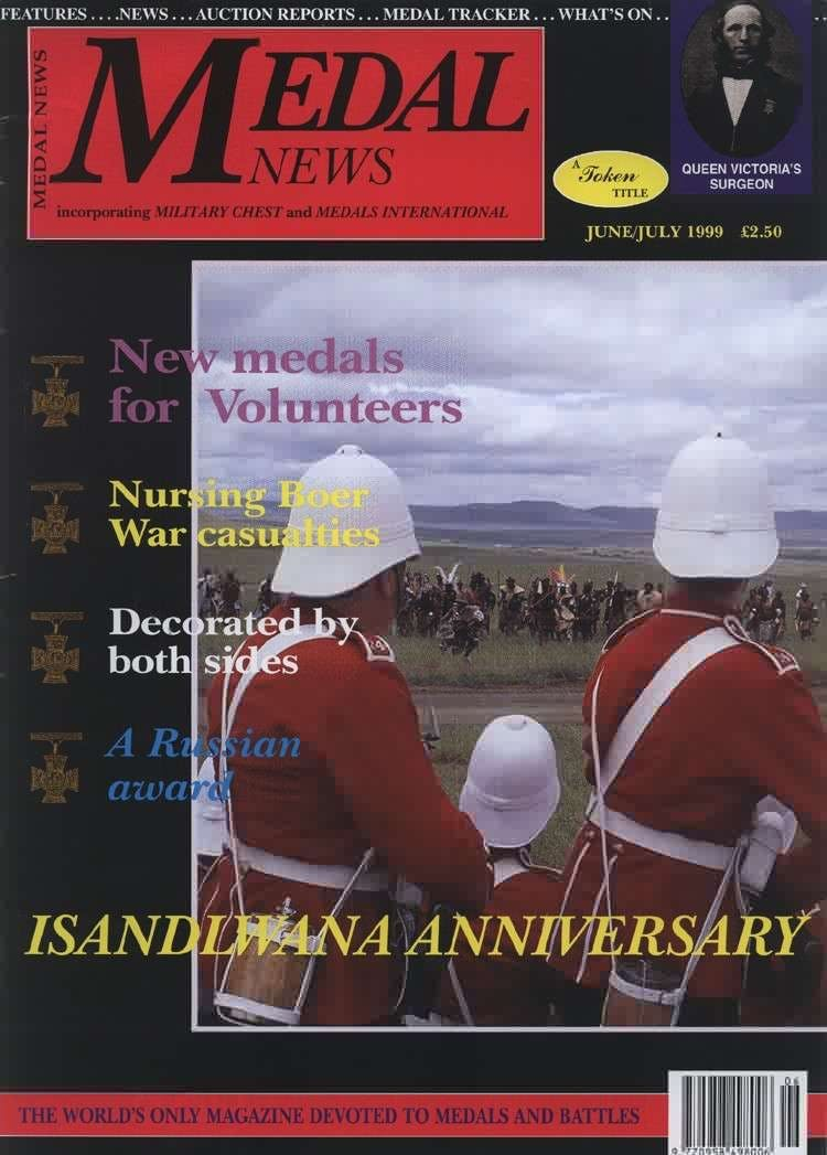 Front cover of 'THE BEST IS STILL TO COME ', Medal News June 1999, Volume 37, Number 6 by Token Publishing