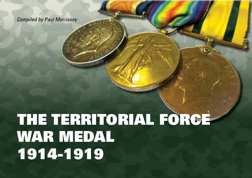 The Territorial Force War Medal 1914-1919 in the Token Publishing Shop