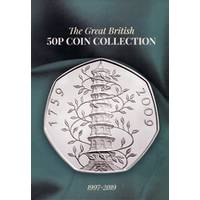 50p Collector's Album and guide book - post free!