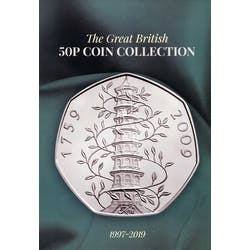 50p Collector's Album and guide book - post free! in the Token Publishing Shop