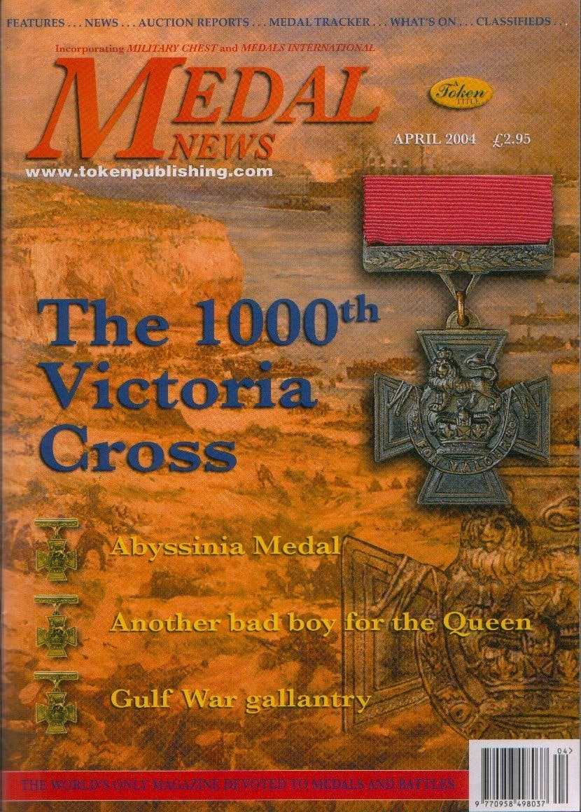 Front cover of 'Storage Options', Medal News April 2004, Volume 42, Number 4 by Token Publishing