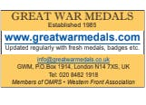 Great War Medals on the Token Publishing Dealer Directory