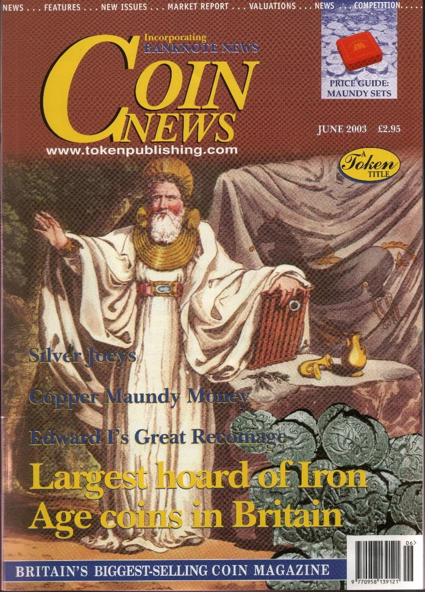 Front cover of 'A Fair Deal?', Coin News June 2003, Volume 40, Number 6 by Token Publishing
